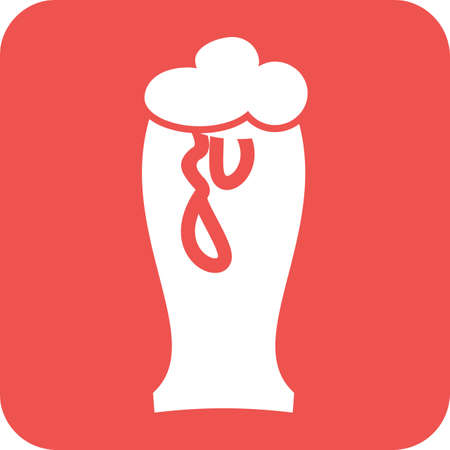brewery: Beer, glass,brewery icon vector image.  Illustration