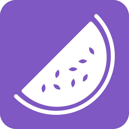 watermelon slice: Watermelon, slice icon vector image.