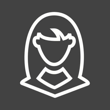 zakelijke vrouw: Zaken, vrouw, zakenvrouw pictogram vector afbeelding.