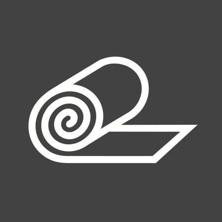 firstaid: Yeso, primeros auxilios, la imagen del icono del vector vendaje.