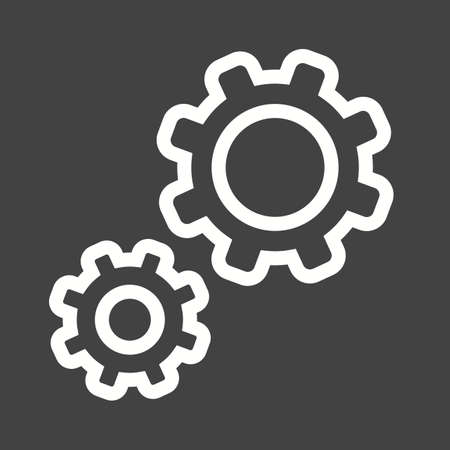 configurations: Change, configurations, control icon vector image.