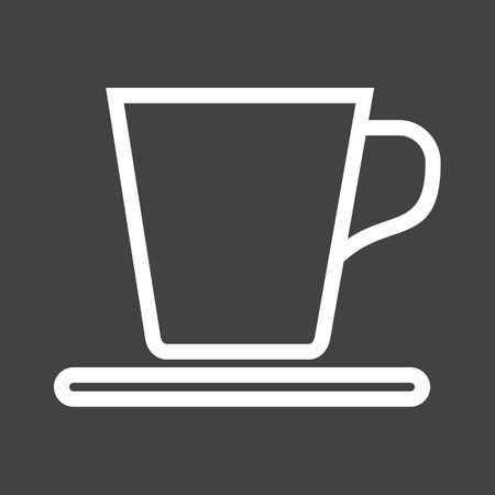 Tea, cup, breakfast icon vector image. Can also be used for eatables, food and drinks. Suitable for use on web apps, mobile apps and print media