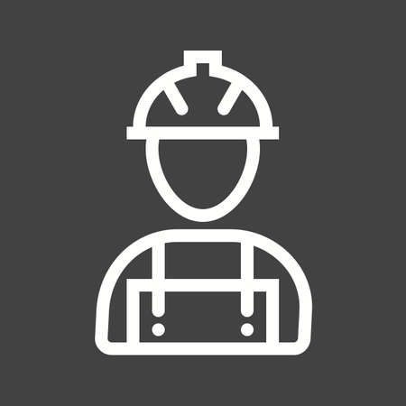 skilled labour: Workers, helmet, site icon vector image. Can also be used for construction, intertiors and building. Suitable for use on web apps, mobile apps and print media.