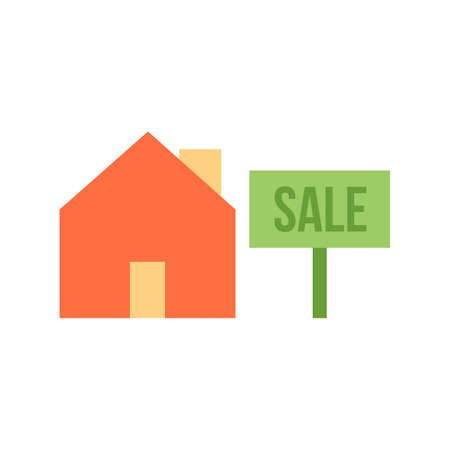 real estate sold: Sold, tag, sale icon vector image. Can also be used for real estate, property, land and buildings. Suitable for mobile apps, web apps and print media.