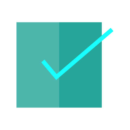 valid: Accept, check, check mark, checklist icon vector image. Can also be used for education, academics and science. Suitable for use on web apps, mobile apps and print media.