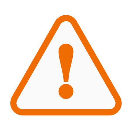 señales preventivas: Wanrning, signo, imagen vectorial signo icono de advertencia. También se puede utilizar para la construcción, interiores y la construcción. Adecuado para su uso en aplicaciones web, aplicaciones móviles y material de impresión.