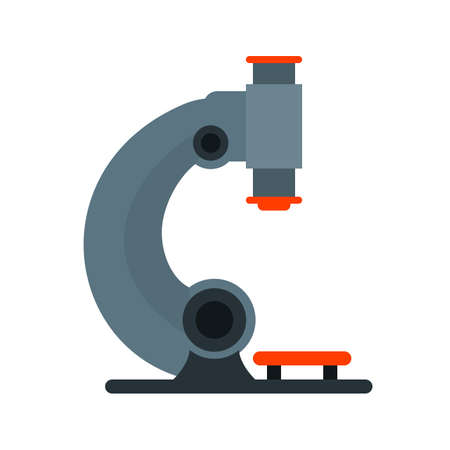 magnification icon: Microscope, science, laboratory icon vector image. Can also be used for healthcare and medical. Suitable for mobile apps, web apps and print media.