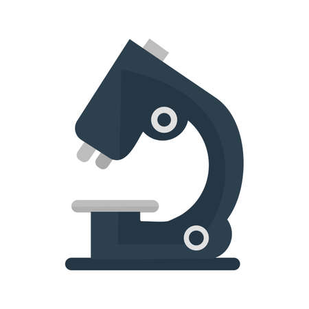 magnification: Microscope, scientific, equipment icon vector image. Can also be used for education, academics and science. Suitable for use on web apps, mobile apps and print media.