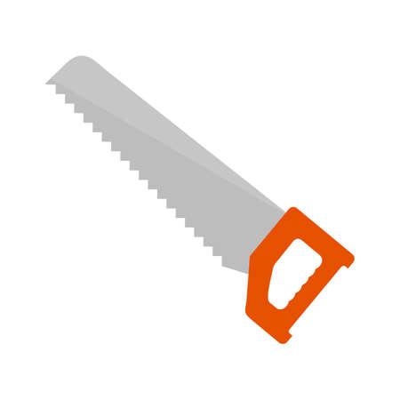 serrucho: Serrucho, el equipo, la imagen del icono del vector de la hoja. Tambi�n se puede utilizar para la construcci�n, interiores y la construcci�n. Adecuado para su uso en aplicaciones web, aplicaciones m�viles y material de impresi�n.