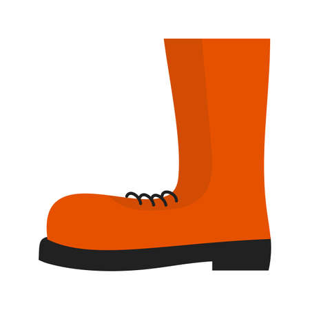 interiors: Boot, shoes, construction boots icon vector image. Can also be used for construction, interiors and building. Suitable for use on web apps, mobile apps and print media. Illustration