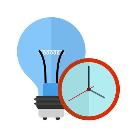 時間、時計、管理アイコン ベクトル画像。携帯アプリ、電話タブ バーの設定にも使用できます。Web アプリ、携帯アプリ、印刷媒体での使用に適し