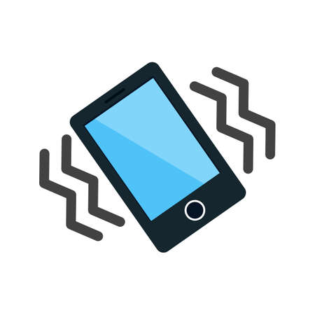 vibrate: Mode, mobile, vibrate icon vector image. Can also be used for mobile apps, phone tab bar and settings. Suitable for use on web apps, mobile apps and print media