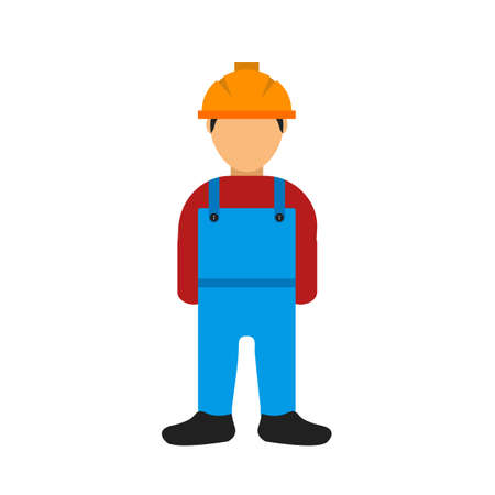skilled labour: Labor, workers, helmet icon vector image. Can also be used for construction, intertiors and building. Suitable for use on web apps, mobile apps and print media.