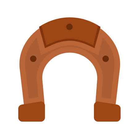 horse shoe: Horse, christmas, shoe icon vector image.Can also be used for christmas, celebrations, observances and holidays. Suitable for use on web apps, mobile apps and print media.