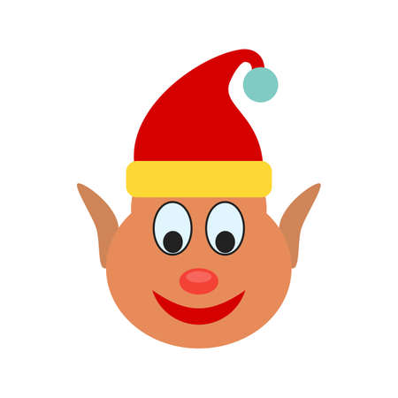 Elf, christmas, party icon vector image.Can also be used for christmas, celebrations, observances and holidays. Suitable for use on web apps, mobile apps and print media. Vector