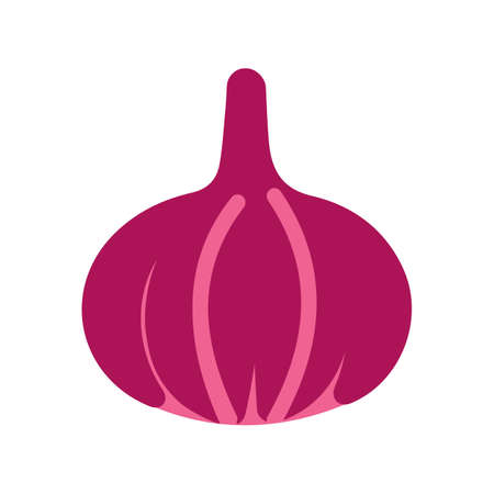 Onion, vegetable, food icon vector image. Can also be used for eatables, food and drinks. Suitable for use on web apps, mobile apps and print media