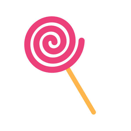 lolly: Lolly, candy, sweet icon vector image. Can also be used for eatables, food and drinks. Suitable for use on web apps, mobile apps and print media
