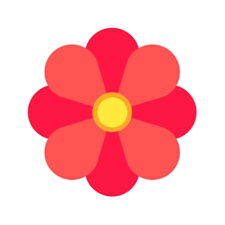 flower rose: Flower, rose, petals icon vector image.Can also be used for christmas, celebrations, observances and holidays. Suitable for use on web apps, mobile apps and print media.