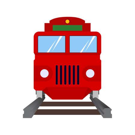 鉄道, 蒸気, 交通機関アイコン vectgor 画像。輸送、輸送、旅行にも使えます。携帯アプリ、web アプリ、印刷メディアに適しています。
