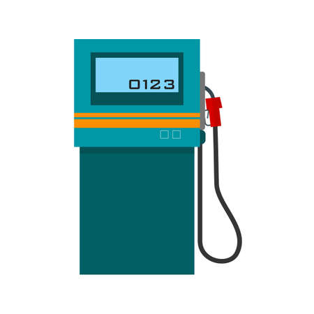 fuel pump: Petrol station, fuel, pump icon vectgor image. Can also be used for transport, transportation and travel. Suitable for mobile apps, web apps and print media. Illustration