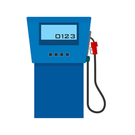 fuel pump: Gas station, fuel, pump icon vectgor image. Can also be used for transport, transportation and travel. Suitable for mobile apps, web apps and print media.