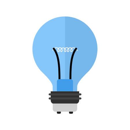 bombillo ahorrador: Bulbo, la imagen del icono del vector de luz, ahorro de energía. También se puede utilizar para la energía y la tecnología. Adecuado para aplicaciones web, aplicaciones móviles y los medios impresos.