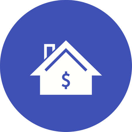 residential housing: Residential, housing, property icon vector image. Can also be used for real estate, property, land and buildings. Suitable for mobile apps, web apps and print media. Illustration