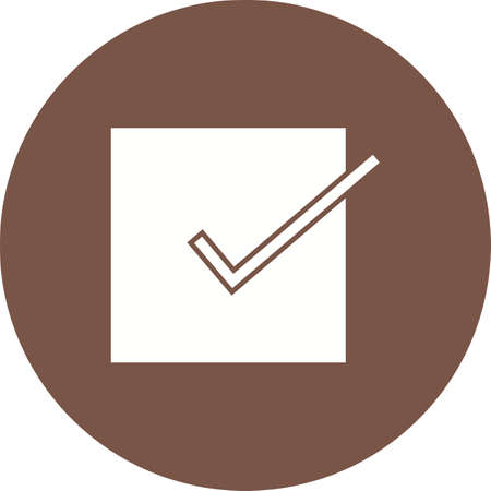 accept: Accept, check, check mark, checklist icon vector image. Can also be used for education, academics and science. Suitable for use on web apps, mobile apps and print media.