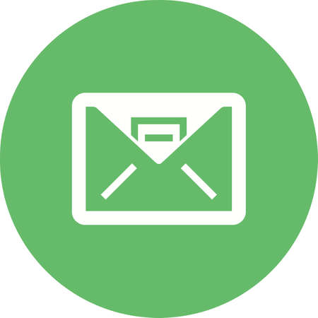 Inbox, mail, message icon vector image. Can also be used for business, finance and accounts. Suitable for web apps, mobile apps and print media.