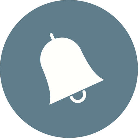 Bell, notification, call icon vector image. Can also be used for education, academics and science. Suitable for use on web apps, mobile apps and print media.