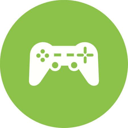 joypad: Juegos, videojuegos, d imagen del vector del icono de la almohadilla. Tambi�n se puede utilizar para aplicaciones m�viles, barra de pesta�as de tel�fono y la configuraci�n. Adecuado para su uso en aplicaciones web, aplicaciones m�viles y material de impresi�n
