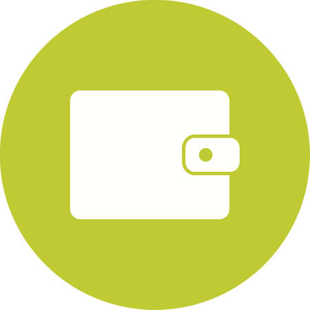 banking and finance: Wallet, purse, money bag icon vector image.Can also be used for banking, finance, business. Suitable for web apps, mobile apps and print media.