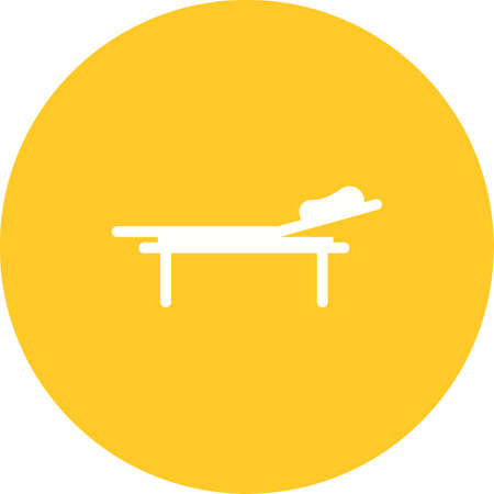 bedridden: Hospital bed, bed, room icon vector image. Can also be used for healthcare and medical. Suitable for mobile apps, web apps and print media. Illustration