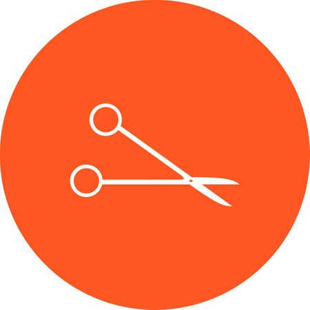 scissors icon: Scissors, cut, scissor, surgical icon vector image. Can also be used for healthcare and medical. Suitable for web apps, mobile apps and print media. Illustration