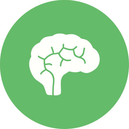 neuro: Brain, neurology, neuro icon vector image. Can also be used for healthcare and medical. Suitable for mobile apps, web apps and print media.