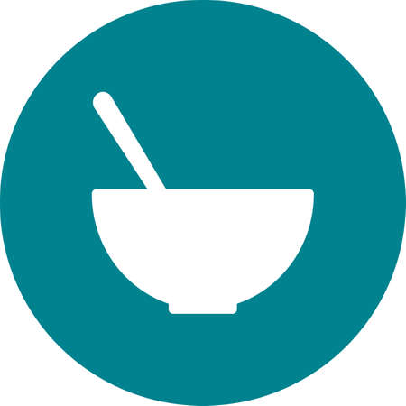 eatables: Soup, liquid, drink icon vector image. Can also be used for eatables, food and drinks. Suitable for use on web apps, mobile apps and print media