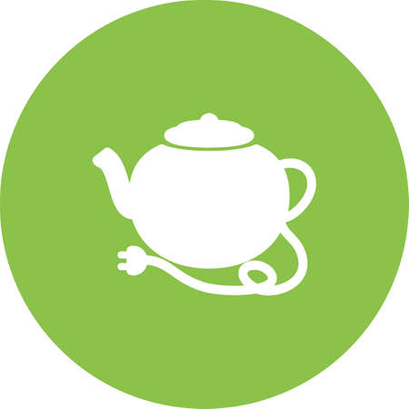 eatables: Kettle, tea, teapot, kitchenware icon vector image. Can also be used for eatables, food and drinks. Suitable for use on web apps, mobile apps and print media