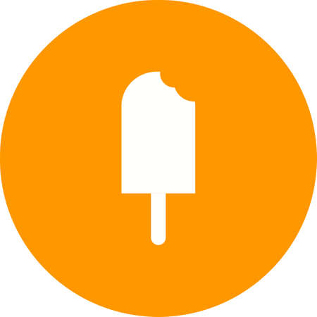 lolly: Ice, lolly, icecream icon vector image. Can also be used for sweets and confectionery. Suitable for use on web apps, mobile apps and print media.