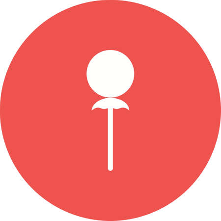 candycane: Candy, cane, stick icon vector image. Can also be used for sweets and confectionery. Suitable for use on web apps, mobile apps and print media. Illustration