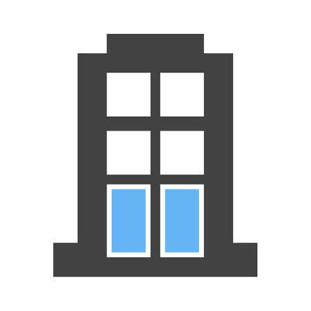 콘도: Apartment, building, block icon vector image. Can also be used for business, finance and accounts. Suitable for web apps, mobile apps and print media.
