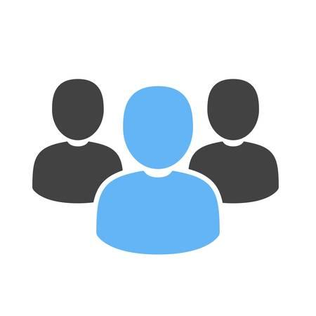 クライアント、人々、公共、アイコン ベクトル画像。銀行、金融、ビジネスの使用もできます。Web アプリ、携帯アプリ、印刷メディアに適していま  イラスト・ベクター素材