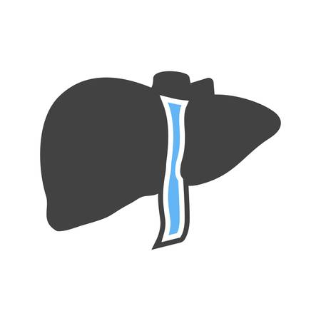 lobe: Liver, human organ,liver lobe icon vector image. Can also be used for healthcare and medical. Suitable for mobile apps, web apps and print media.