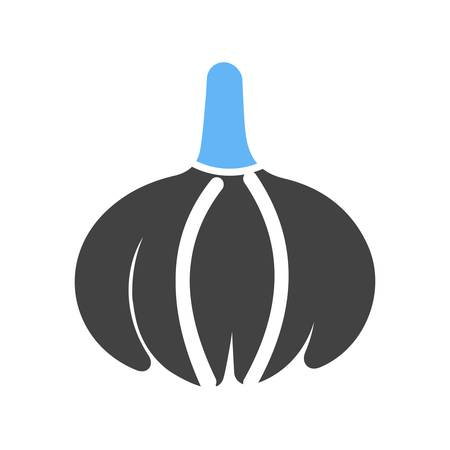 eatables: Onion, vegetable, food icon vector image. Can also be used for eatables, food and drinks. Suitable for use on web apps, mobile apps and print media