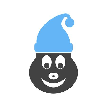 elf christmas: Elf, christmas, party icon vector image.Can also be used for christmas, celebrations, observances and holidays. Suitable for use on web apps, mobile apps and print media. Vectores