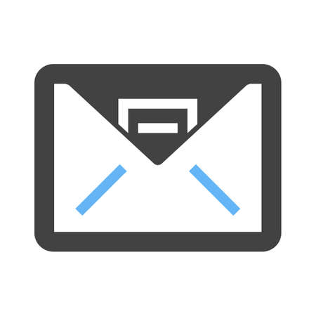 inbox: Inbox, mail, message icon vector image. Can also be used for business, finance and accounts. Suitable for web apps, mobile apps and print media.