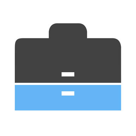 accounts: Briefcase, case, business icon vector image. Can also be used for business, finance and accounts. Suitable for web apps, mobile apps and print media. Illustration