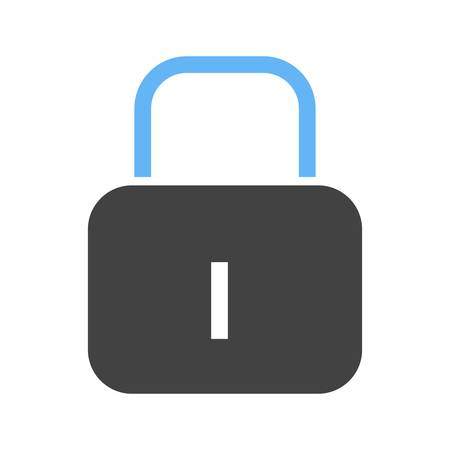 protect icon: Lock, security, protect icon vector image.Can also be used for user interface. Suitable for mobile apps, web apps and print media. Illustration