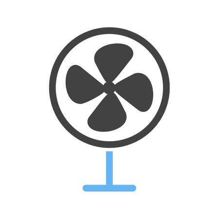 ceiling design: Ventilador, imagen del vector fresco, icono del aire. Tambi�n se puede utilizar para el verano, la recreaci�n y la diversi�n. Adecuado para su uso en aplicaciones m�viles, aplicaciones web y medios impresos. Vectores