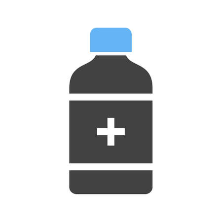medicine bottle: Medicine, bottle, pill icon vector image. Can also be used for healthcare and medical. Suitable for mobile apps, web apps and print media.