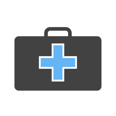 healthcare and medical: First aid, kit, box icon vector image. Can also be used for healthcare, medical and hospital. Suitable for mobile apps, web apps and print media. Illustration